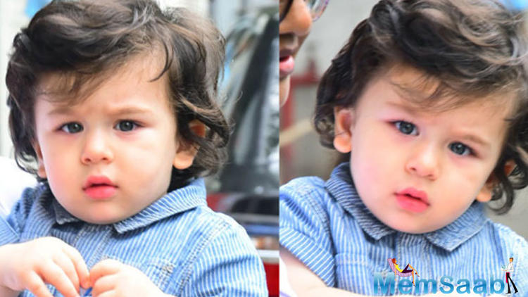 The actor reportedly revealed that Taimur has learnt few new words.