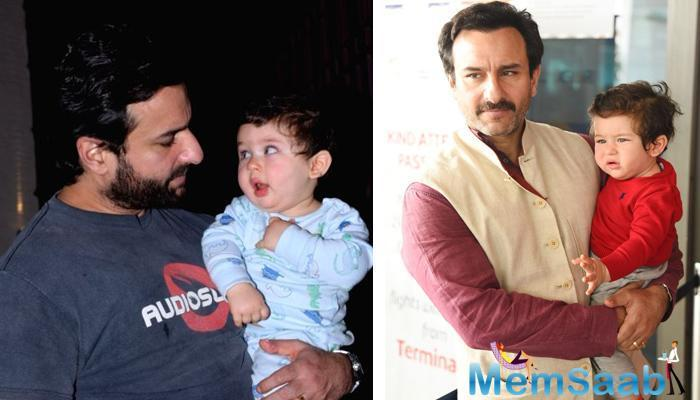Kareena Kapoor and Saif Ali Khan's Chota Nawab Taimur Ali Khan is growing fast.
