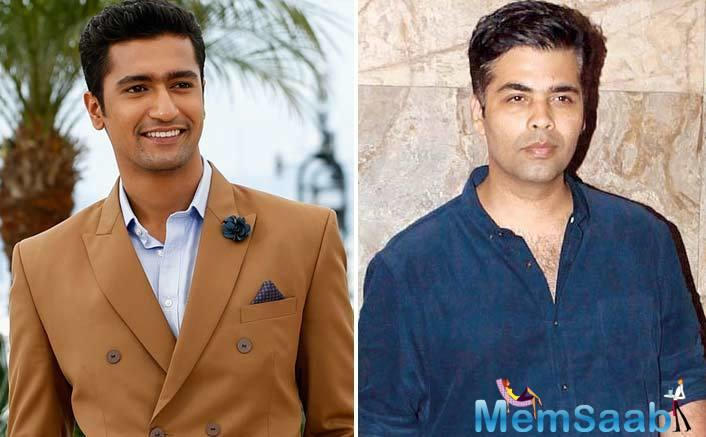 Karan Johar's Dharma Productions is also known to experiment with different genres and as far as Vicky is concerned, he is also fond of Karan.