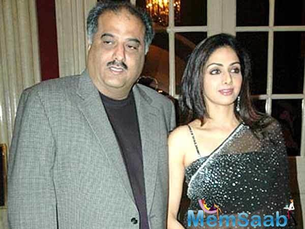 As he is trying to come to terms with his wife, Sridevi's death, Boney Kapoor has many plans to honour her memory.