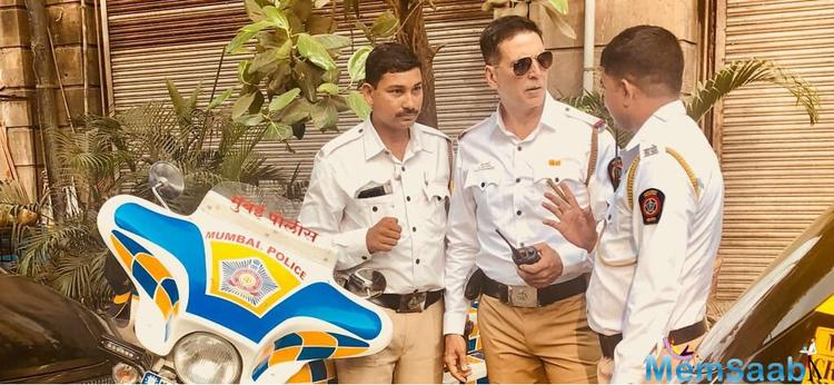 Akshay Kumar has joined hands with the Union ministry of Road Transport and Highways to promote road safety through its campaign.