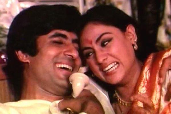 Son Abhi, too, had shared a still of his parents laughing their hearts out from a film and captioned it as: