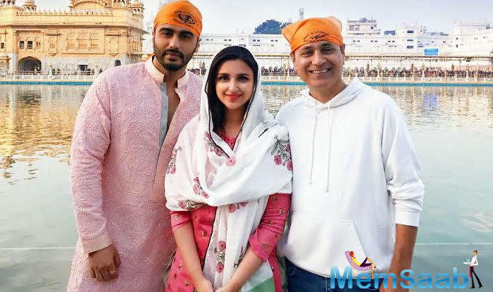 Vipul Amrutlal Shah's Namaste England is a young and refreshing story that traces the journey of two individuals Jasmeet and Param.