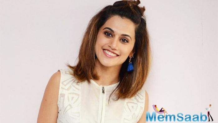 Actress Taapsee Pannu has said she has a powerful role in her upcoming film Badla in which she will be seen along with megastar Amitabh Bachchan.