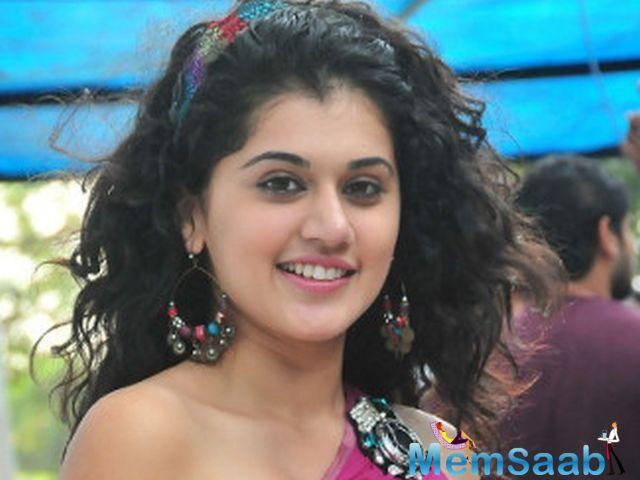 Asked if she felt any difference while working in a short film as compared to full-length feature film, Taapsee said:
