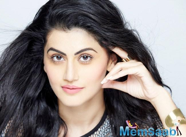 Talking about her other upcoming projects, Taapsee said: