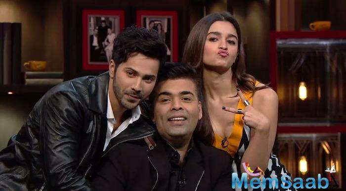 Alia Bhatt says can talk to Karan Johar about anything under the sun and that having a chat with the filmmaker refreshes her.