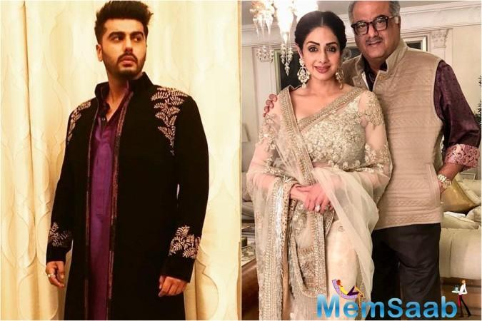 Arjun and Anshula are producer Boney Kapoor's children from first wife Mona Shourie, who passed away in 2012.