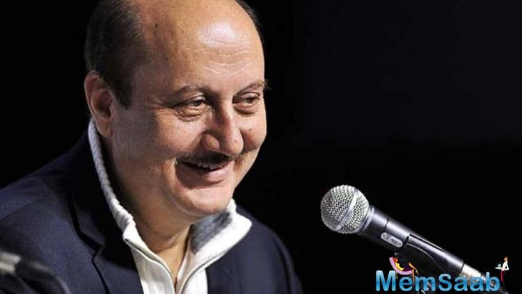Anupam Kher said he is grateful for the award and considers the recognition as an encouragement to keep working in the industry for another 34 years of his life.