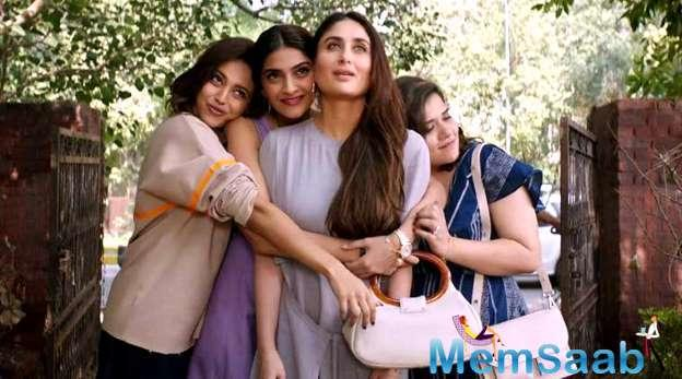 The movie has drawn a lot of interest especially as it is Kareena's first film since she became a mother, and Sonam Kapoor's first movie to release since her wedding.