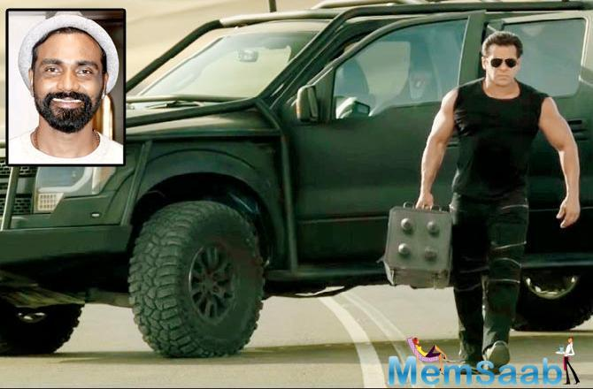 While the high-octane action sequences in Race 3 include hand-to-hand combat and a car chase scene, D'Souza says it is Khan's expertise in the genre that helps elevate the stunts further.