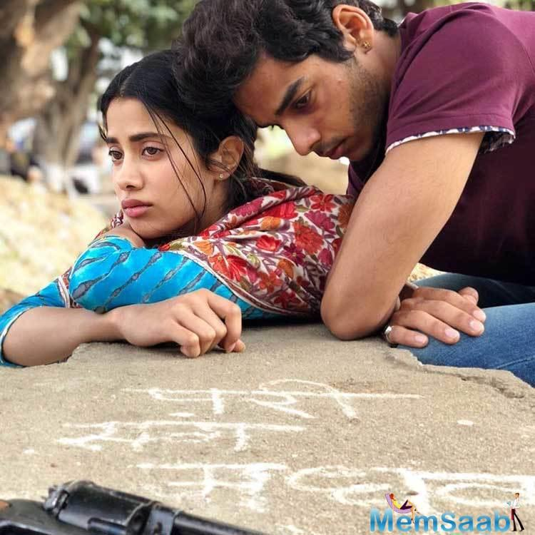 The trailer of Dhadak will come out on Monday at 12 noon.