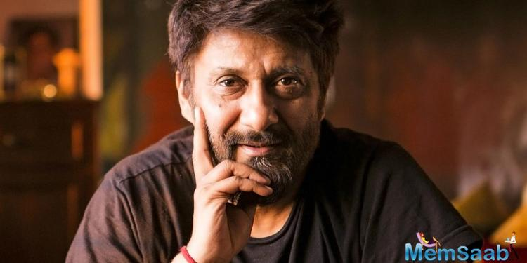 When Vivek Agniotri met him to give him a copy of his brand new book