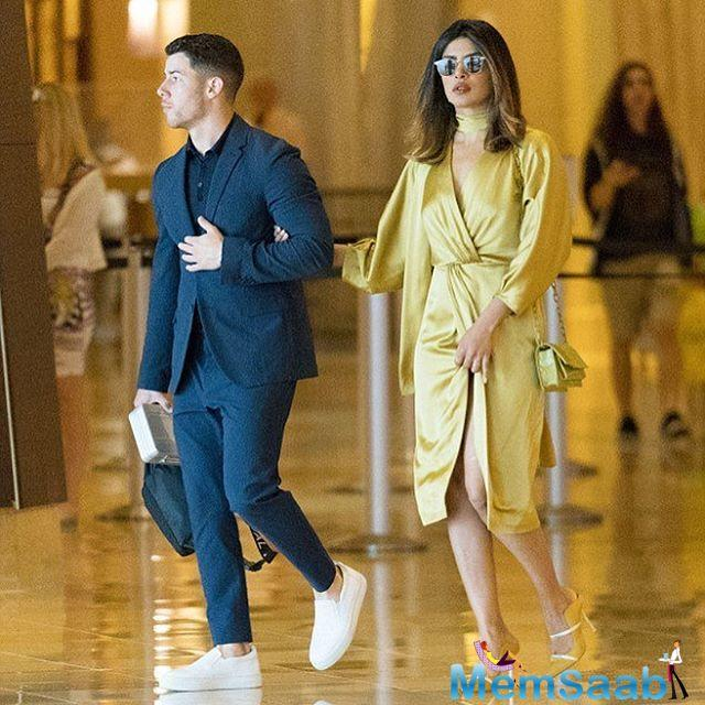 Looks like Nick introduced Priyanka to his family on the occasion. Need we say anything more?