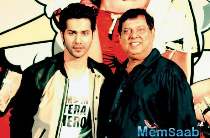 It is the season of biopics in Bollywood but on actor Varun Dhawan's wishlist is only one man, his filmmaker father David Dhawan.