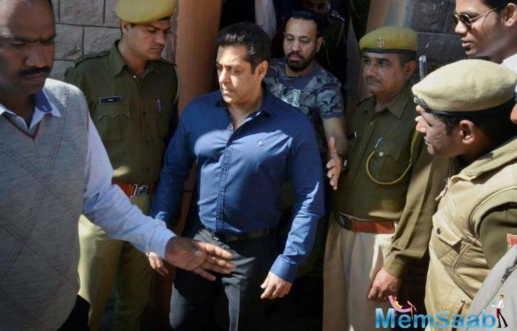 As Salman Khan is busy promoting his Friday release, Race 3, Salim says his routine hasn't been affected after reports of the contract killer's arrest.