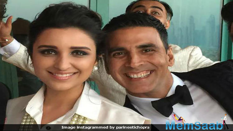 The shoot of the movie began with him and later it was announced that Parineeti Chopra, who had just acted in Ajay Devgn starrer 'Golmaal Again' then, would also be part of the film.