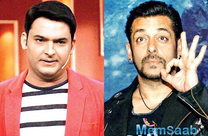 Pinkvilla has reported that apparently, Sohail had promised Kapil that he will make a movie with him a few years ago when Sohail was the judge of a comedy reality show.