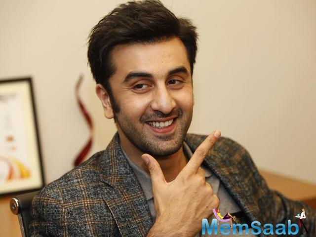 Yesterday, Ranbir Kapoor expressed a desire to be part of a film in which he essays the role of a father.
