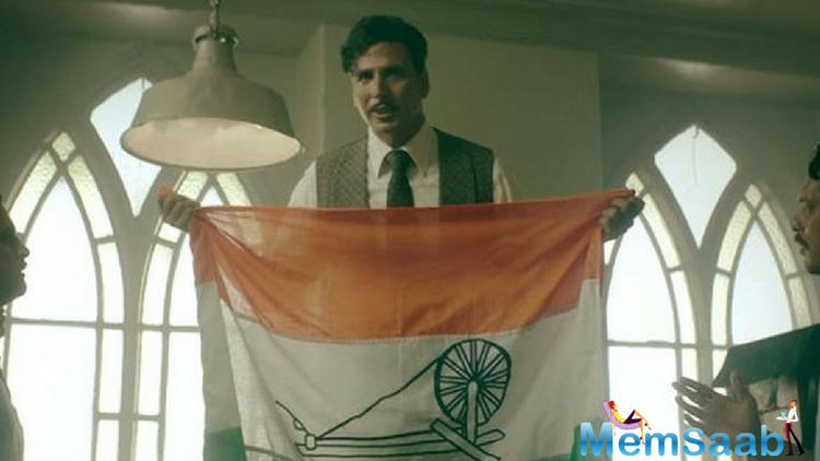 The teaser revisits the feeling of disrespect that Indian's had to face pre Independence while having to stand in attention for the British National anthem.