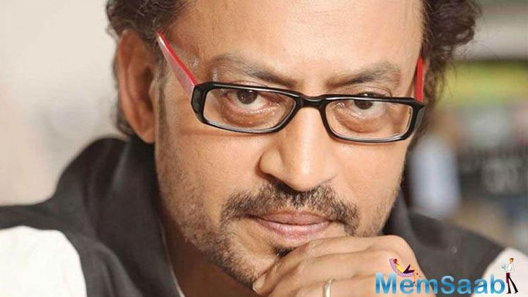 Irrfan had shared the news of illness on twitter earlier.