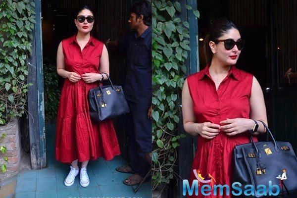 A source tells mid-day that Kareena Kapoor Khan has allotted two days for rehearsals and the act, following which she will rush back to the cooler climes of the UK.