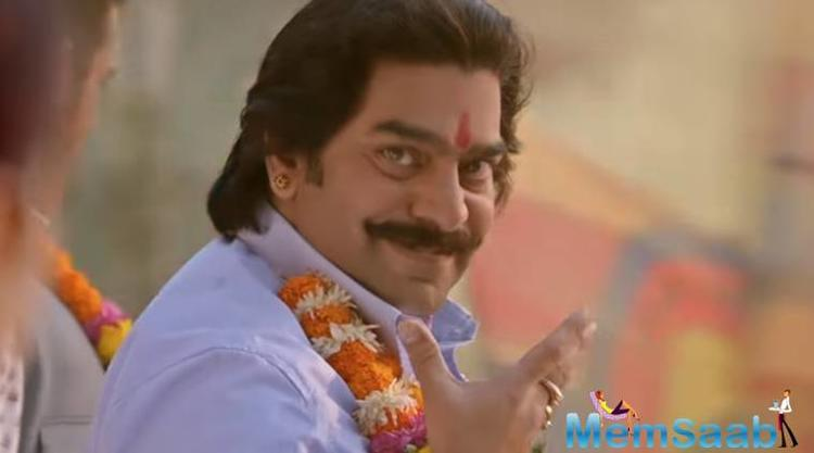 Ashutosh Rana is surely a kind of person who gets thing done in one go once he sets his heart to it.