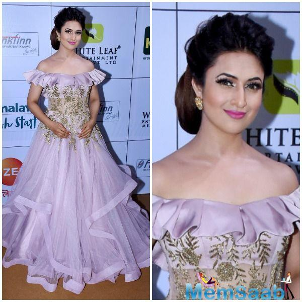 Anita Hassanandani and Karishma Tanna, stuck to being the glamorous divas that they are.