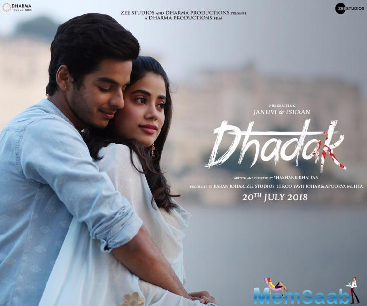 Ishaan Khatter and Janhvi Kapoor starrer 'Dhadak' is one of the most awaited films of the year. After fantastic response to the trailer, the first romantic song from Karan Johar's production is out today.