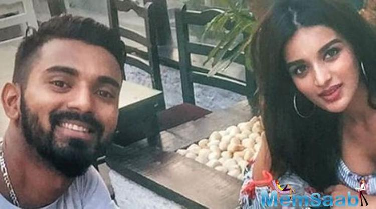 "Cricketer KL Rahul says he is not dating ""Munna Michael"" actress Nidhhi Agerwal."