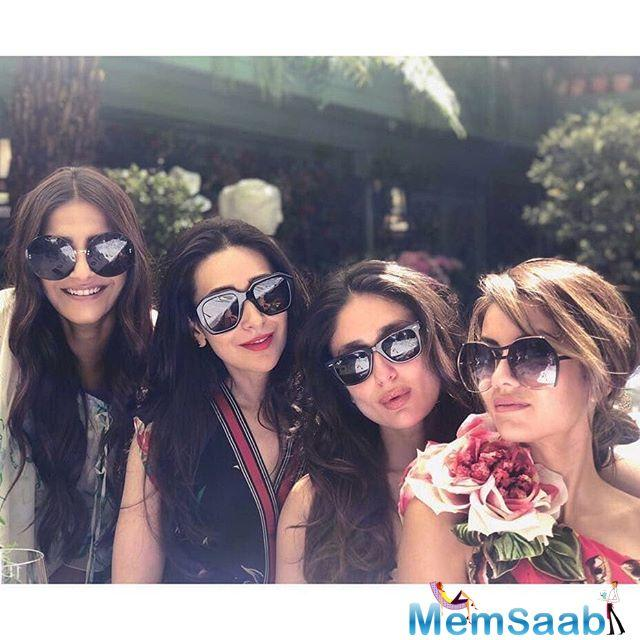 Karisma, Kareena and Sonam have been in London for almost three weeks now.