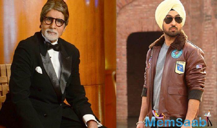 Amitabh Bachchan has wished luck to the entire team of the forthcoming film Soorma and says that he is an admirer of actor Diljit Dosanjh, who he described as a
