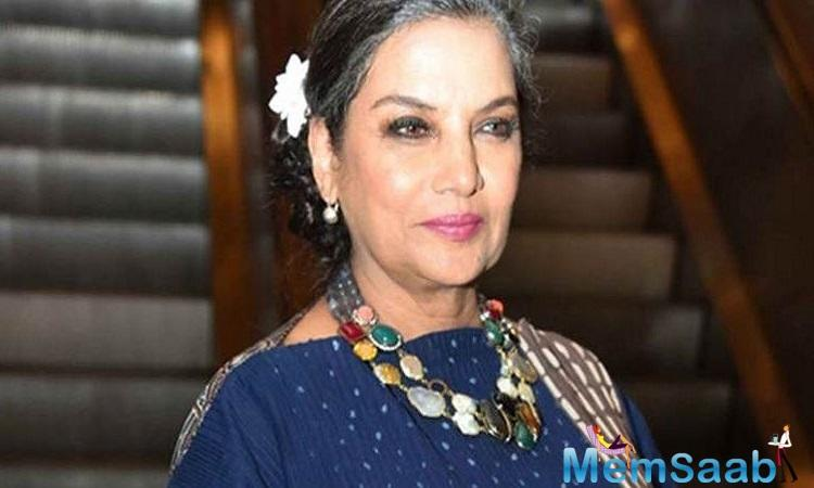 "Veteran actress Shabana Azmi is impressed with actor Ranbir Kapoor after watching his performance in ""Sanju""."