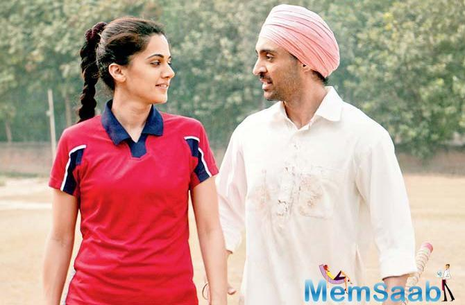 The film also sheds light on his unrequited first love. Although the other actors in the film play real-life characters, Taapsee Pannu's part - Singh's first girlfriend - has apparently been rechristened, on his request.