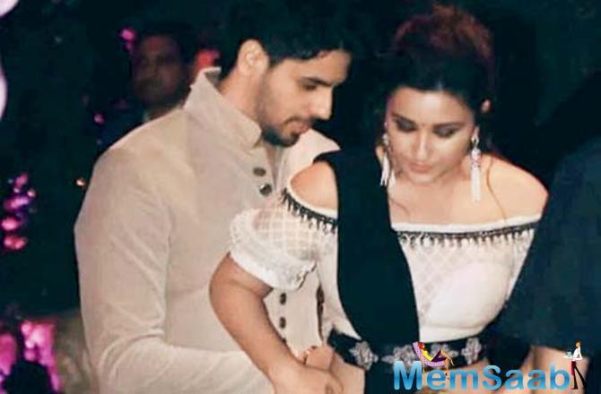 Parineeti Chopra looked pretty as she donned dhoti pants and off-shoulder crop top and a pallu clinched to the waist.
