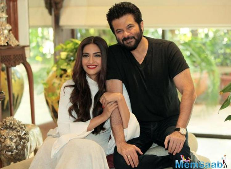 On the professional front, the father-daughter duo is all set to come together on the silver screen in their next 'Ek Ladki Ko Dekha Toh Aisa Laga'.