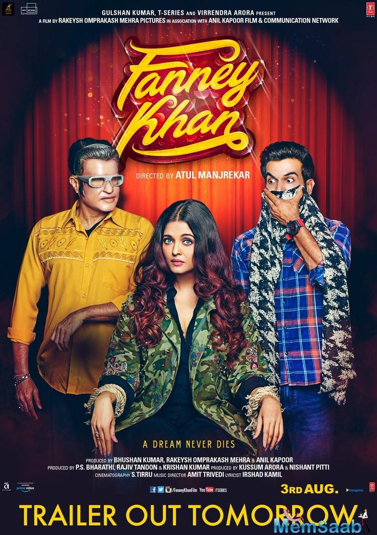 While earlier posters featured Anil Kapoor, the latest poster showcase Aishwarya and Rajkummar along with none other than Rajnikanth. The two posters which released today are very quirky.