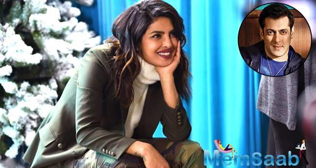 After carving a niche for herself in the west, Priyanka Chopra is all set to make her comeback in Bollywood.