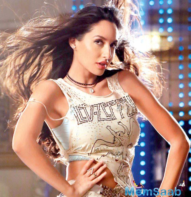 Her Arabic recreation of the celebrated track from Sirf Tum (1999), Dilbar, winning accolades, Nora Fatehi reveals that she enhanced her craft by turning tutor for herself.