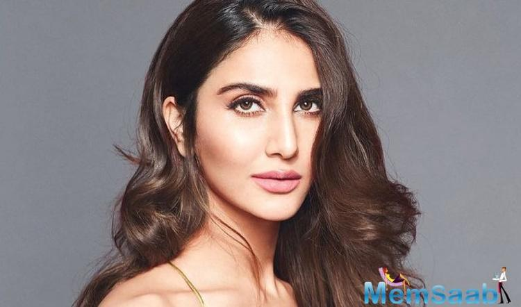 There is no inkling when her film with Hrithik Roshan and Tiger Shroff kickstarts, but Vaani Kapoor has been sweating it out at the gym.