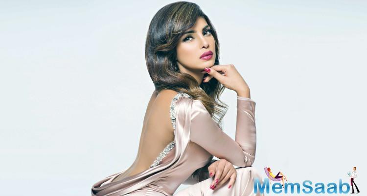 Priyanka Chopra, next will be seen in Salman starrer 'Bharat'.