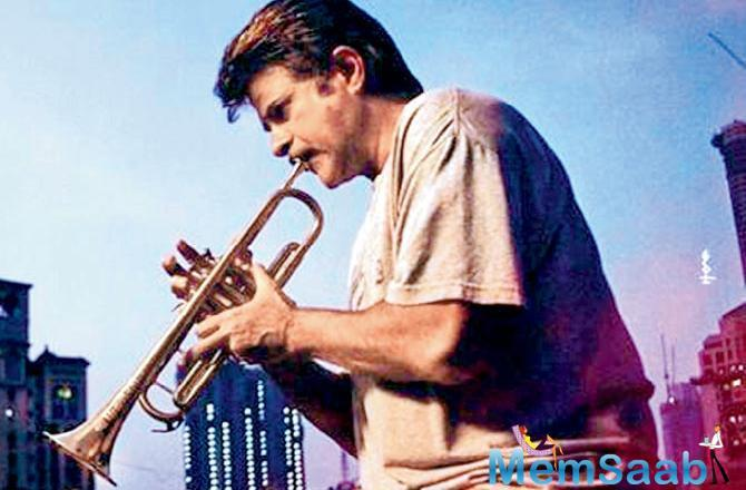The toil was essential, says Kapoor. The trumpet is an integral part of my character.