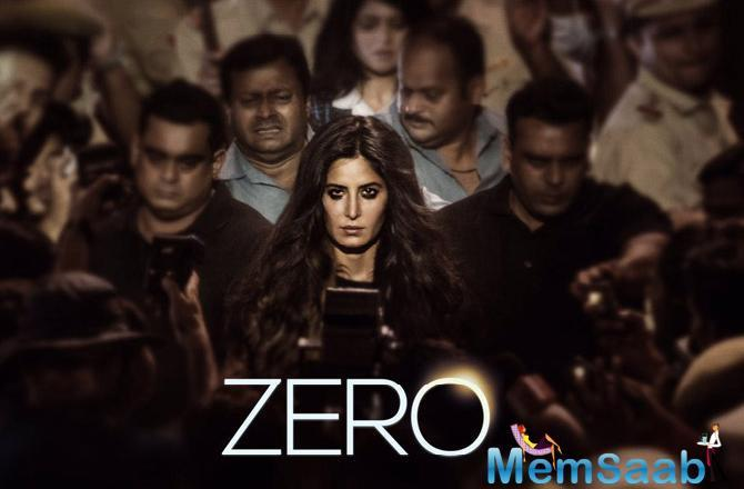 Continuing the tradition the second teaser was launched on Eid, giving the fans another glimpse of this year's big Christmas release and now followed by Katrina's look.