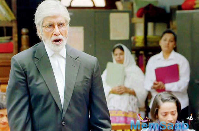 Taking over the reins from Pink (2016) co-star Amitabh Bachchan to play a lawyer in the courtroom drama, Mulk, Taapsee Pannu is also imbibing the actor's mannerisms to play her part convincingly.