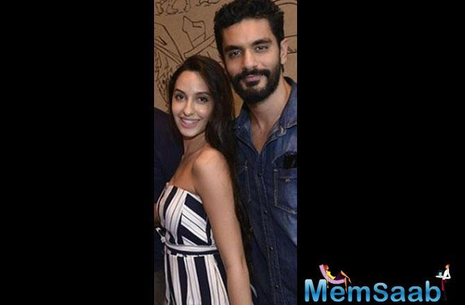 Angad Bedi walked down the aisle with actress Neha Dhupia on May 10, 2018.