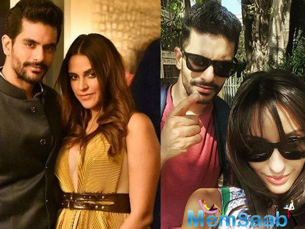 Denying the rumour that she never dated Angad Bedi, Nora further added that she doesn't care what's happening in his life. The two have even unfollowed each other on social media.