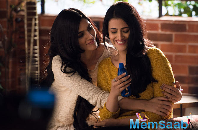 Bollywood actor Kriti Sanon and Sister Nupur Sanon showcase 'Gehra Love' (Deep Love) with their hair oil tales for Parachute Advansed Coconut Hair Oil.