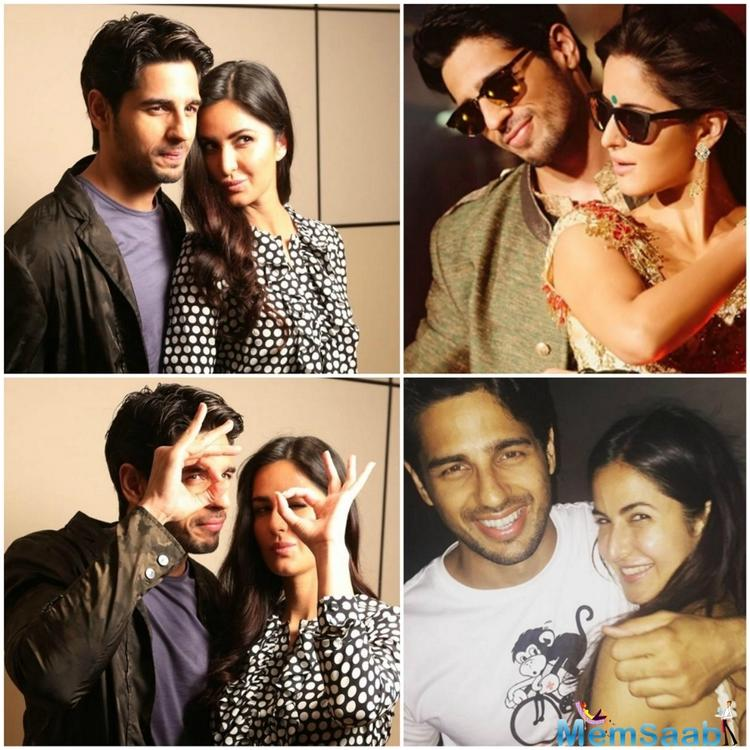 Sidharth Malhotra and Katrina Kaif have worked together in the film 'Baar Baar Dekho'. Though the songs were hit, the film did an average box office collection.