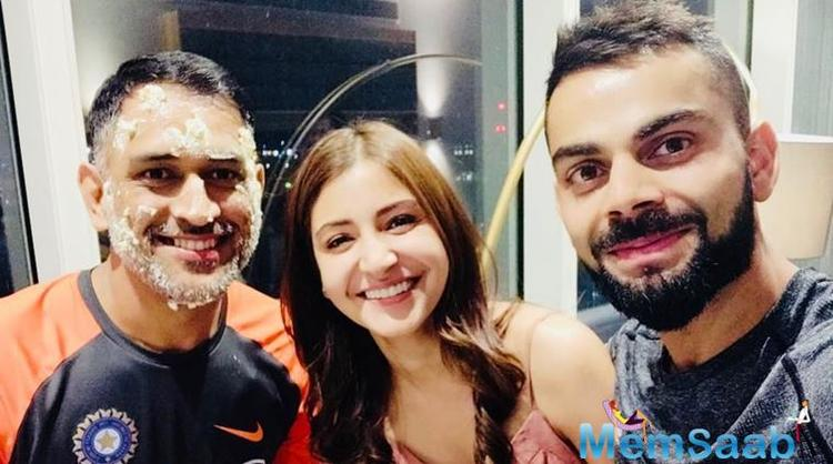 Apart from spending time with each other, Virat and Anushka have also been meeting their friends for outings.