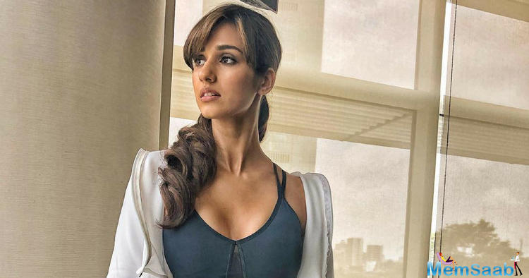 Known as one of the fittest actresses in B town, Disha Patani has been treating her fans with glimpses of her training sessions regularly.